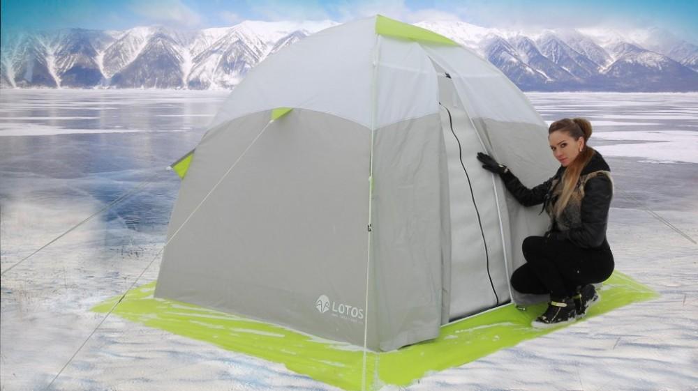 Как сделать зимнюю палатку