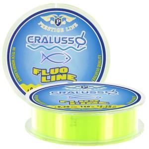 Леска CRALUSSO Fluo-yellow Prestige (150м) - 0,25мм