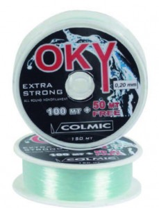 Леска COLMIC OKY мт.150 - 0.45 - 15,30кг