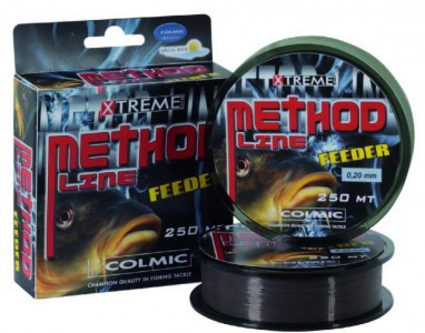 Леска COLMIC METHOD FEEDER 250м - 0,16мм - 3,2кг