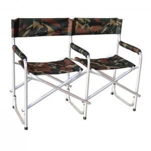 Кресло складное двойное (алюминий)