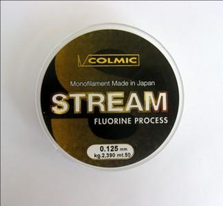 Леска COLMIC STREAM 50м - 0,125мм - 2,39кг