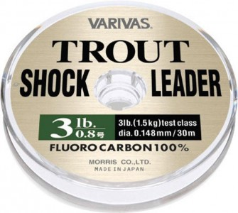 Леска VARIVAS Trout Shock Leader Fluro 30 m