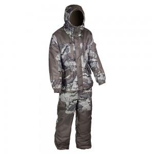 Зимний костюм HUNTSMAN Ангара, тк. Алова, со снегозащитными гетрами цв. аллигатор/хаки 44-46
