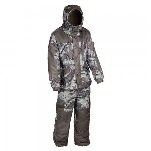 Зимний костюм HUNTSMAN Ангара, тк. Алова, со снегозащитными гетрами цв. аллигатор/хаки 48-50