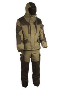 Зимний костюм HUNTSMAN Ангара, тк. Палатка/Грета со снегозащитными гетрами 44-46