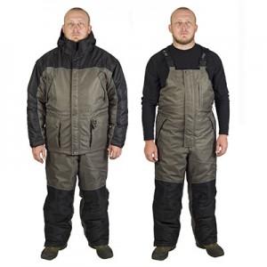 Костюм рыболовный зимний Canadian Camper DENWER (куртка + брюки) (цвет stone, 56-58/170-176)
