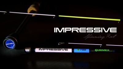 Спиннинг ZEMEX IMPRESSIVE S-702XUL 2,13 м. 0.3-3 g NEW