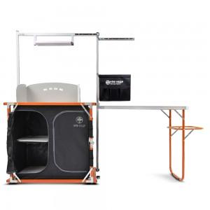 Кухня походная Кедр PREMIUM Orange с обвесом