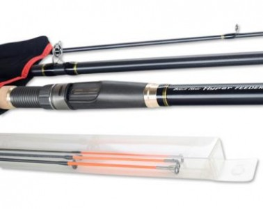 Удилище фидер BLACK HOLE HYPER FEEDER-II 420SH 4,20м  (до 160г)