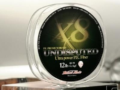 Леска плетеная Black Hole UNDISPUTED 150м 0,09мм (№0,3) - 4 нити U-09