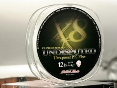 Леска плетеная Black Hole UNDISPUTED 150м 0,17мм (№1) - 8 нитей U-17