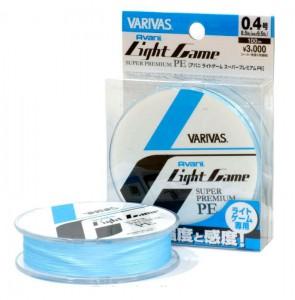 Леска плетёная VARIVAS Light Game Super Premium PE 100m 0.3