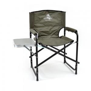 Кресло складное Кедр со столиком, сталь