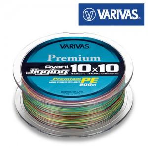 Леска плетёная VARIVAS Avani Jigging 10x10 Premium PE 200m 1.0