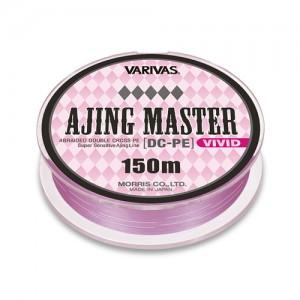 Леска плетёная VARIVAS Ajing Master DX-PE Vivid 0.2