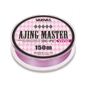 Леска плетёная VARIVAS Ajing Master DX-PE Vivid 0.4